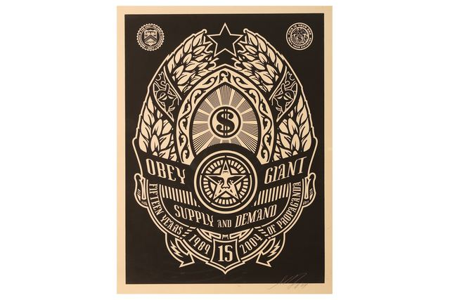 Shepard Fairey, 'Ankara Black', 2004, Chiswick Auctions