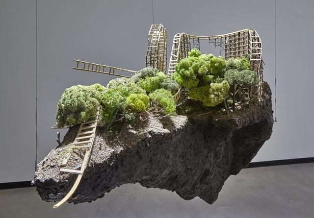 , 'Rollercoaster,' 2010, Galleria Heino