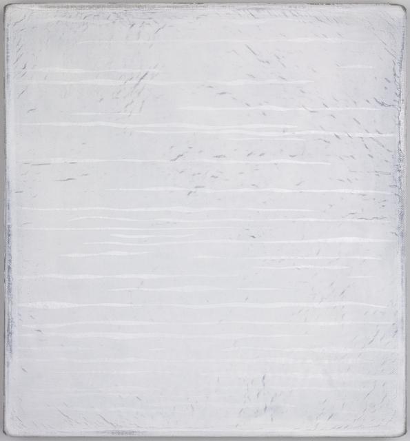 , 'Untitled (White Field No. 1),' 2016, Miranda Kuo Gallery