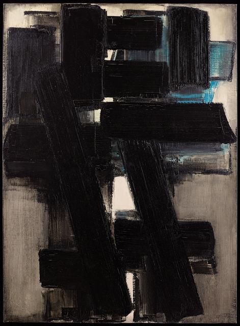 , 'Peinture , 25 février 1955 ,' 1955, Applicat-Prazan