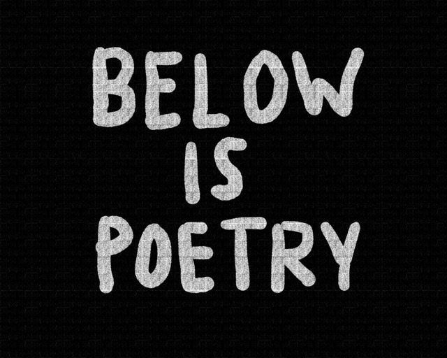 , 'Below is Poetry,' 2018, Sapar Contemporary