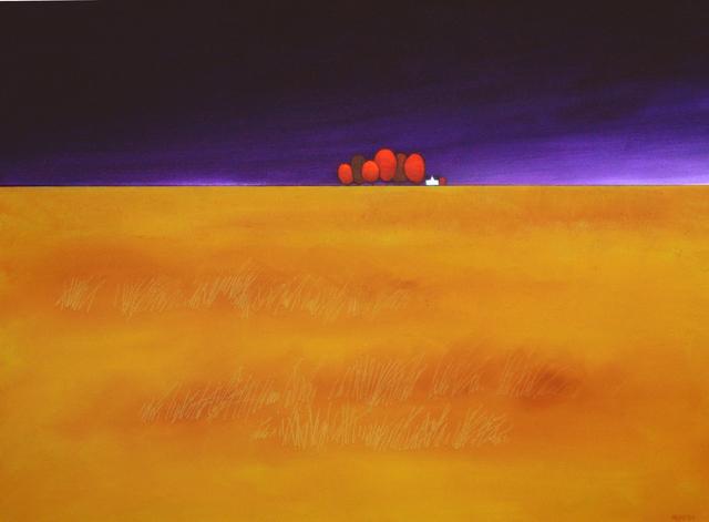 , 'field of yellow,' 2018, Petroff Gallery