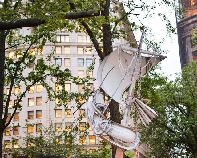 , 'Flying Ship,' 2014, Madison Square Park