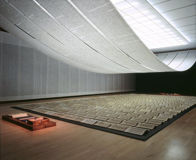 , 'Book from the Sky 1987–91,' 1987-1991, Blanton Museum of Art