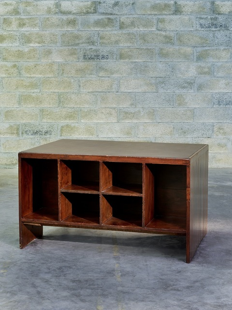 ", '""Base Building "" Desk,' ca. 1957, Galerie Downtown - François Laffanour"