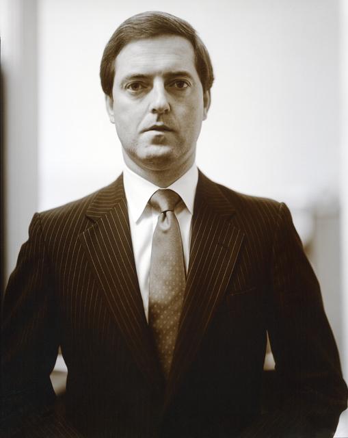 , 'Congressman John P. Hiler, Republican, Indiana, 1986,' 1986, Deborah Bell Photographs