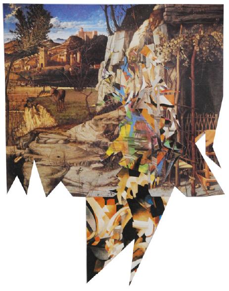 , 'Bellini+Picabia+FranzMarc,' 2010, A Gentil Carioca