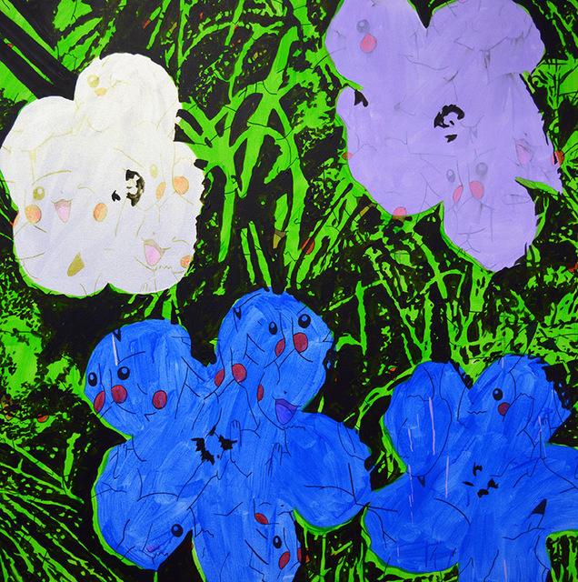 , 'PWF (blue),' 2016, Castor Gallery