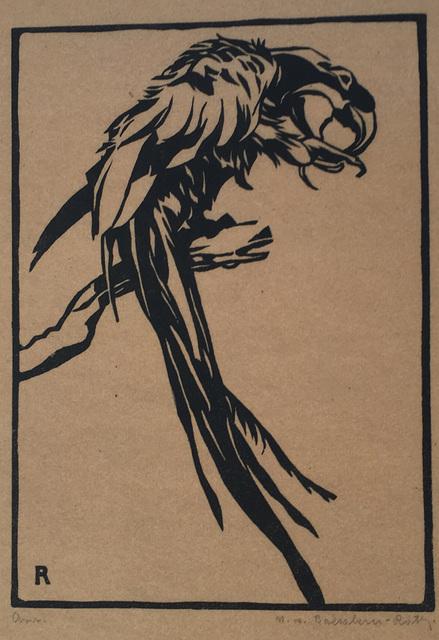, 'Macaw,' before 1919, Galerie Kovacek & Zetter