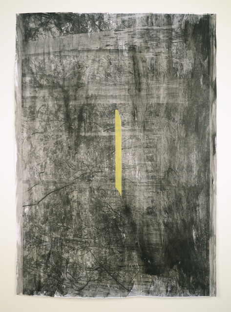 , 'Impermanence, Slow Time, Quick Time / Black / Yellow / Light + Dark,' 2015, Minus Space