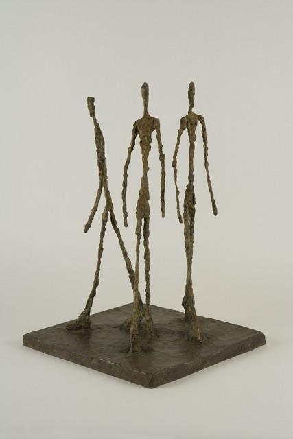 , 'Three Men Walking,' 1948, Yuz Museum