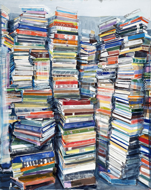 , 'Bucher (Vertikal) [Books (Vertical)],' 2016, Rosenbaum Contemporary