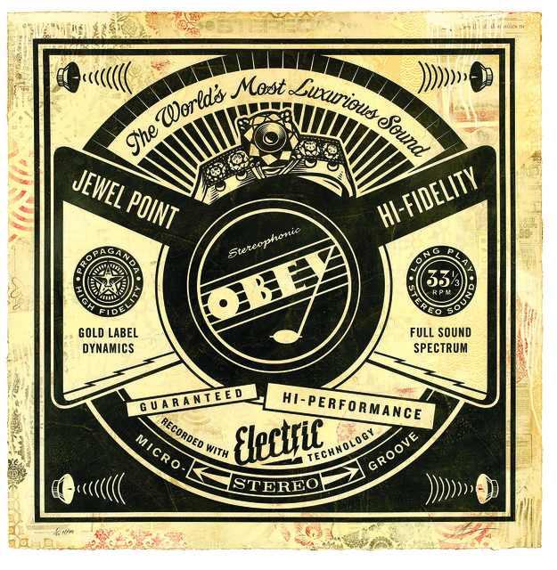 Shepard Fairey (OBEY), 'Luxurious Sounds', 2013, Underdogs Gallery