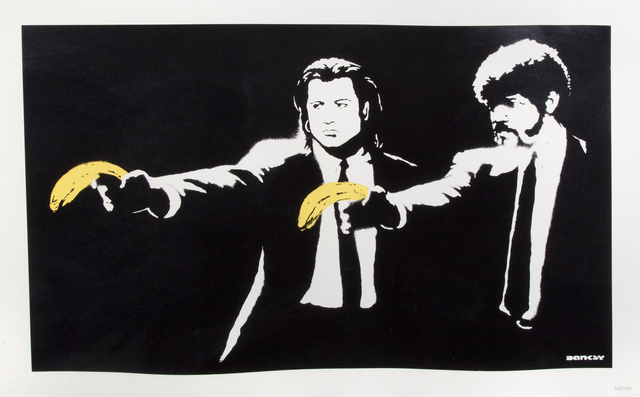 Banksy, 'Pulp Fiction', 2004, Julien's Auctions