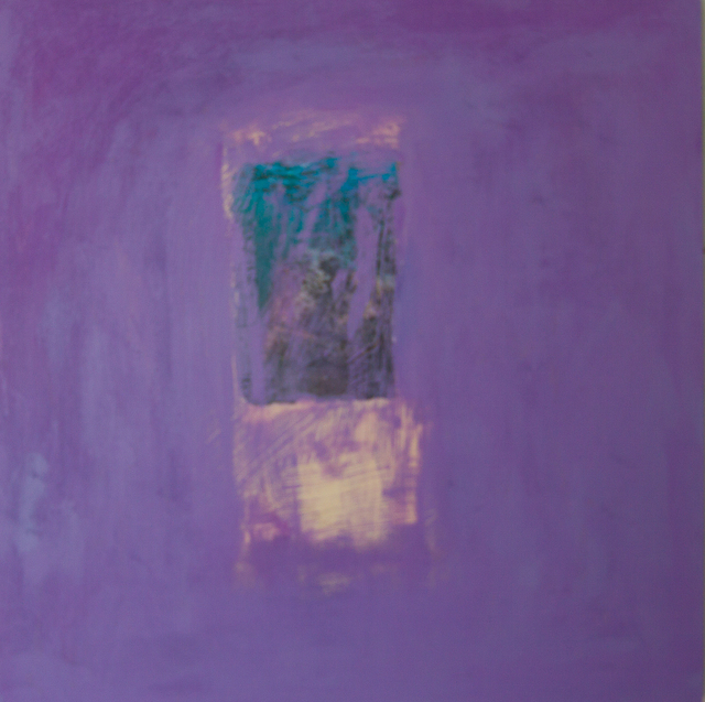 , 'Purple Ancient Tablet,' 2017, Walter Wickiser Gallery