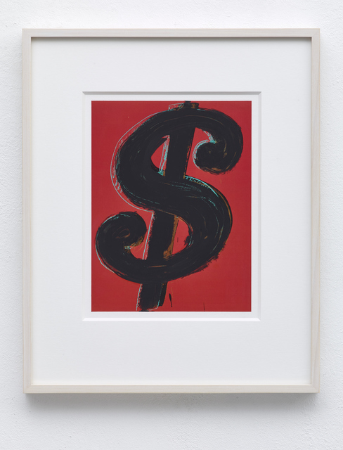 , 'Dollar Sign,' 2016, PABLO´S BIRTHDAY