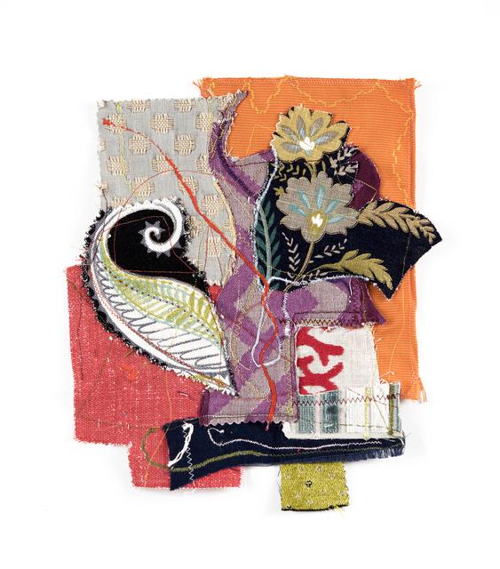 Alyce Gottesman, 'Fragments', 2020, Textile Arts, Fabric, thread, Imlay Gallery