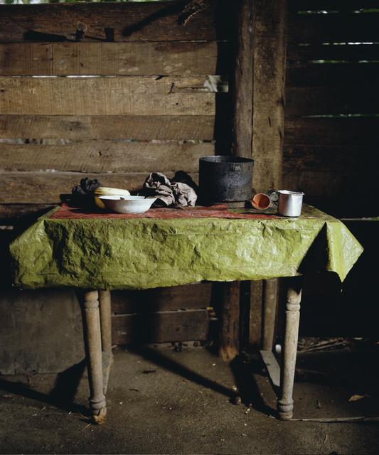 , 'Green Table Cloth. Playa Duaba, Baracoa (Cuba) ,' 2012, Galerie Nathalie Obadia