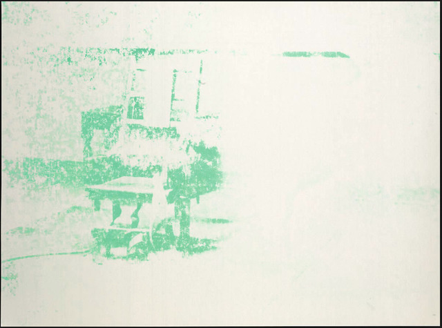 Andy Warhol, 'Andy Warhol, Electric Chairs (#11.80) Serigraph Print, 1971', 1971, Hedges Projects