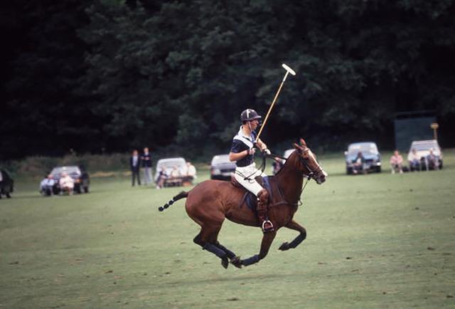 Slim Aarons, 'Polo Prince', 1985, IFAC Arts