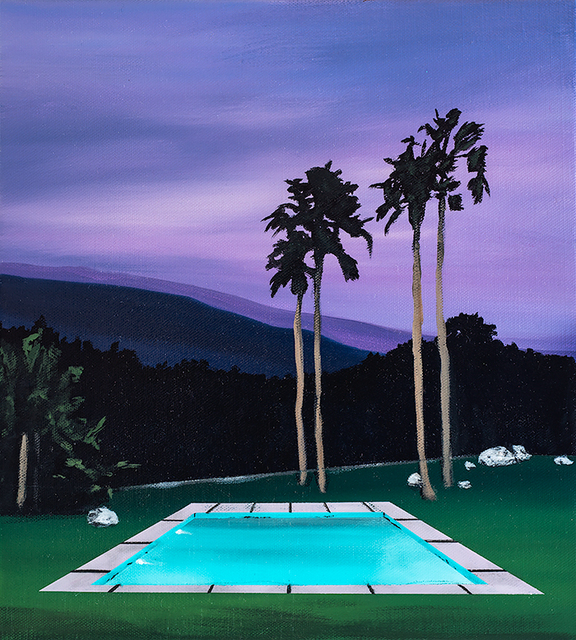, 'Azores Pool,' 2017, Rebecca Hossack Art Gallery