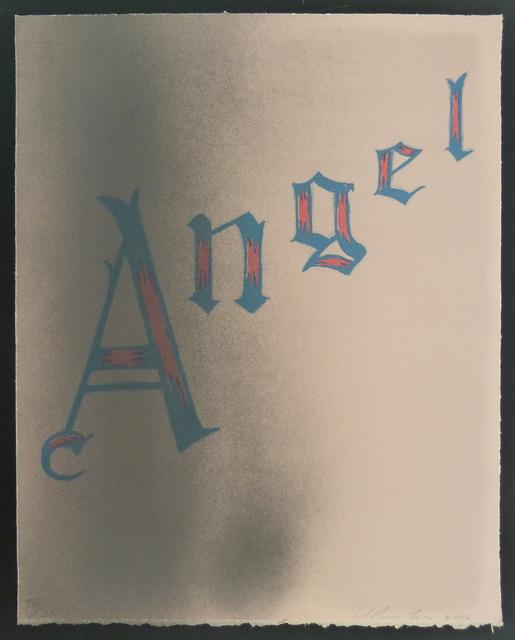 Ed Ruscha, 'Angel ', 2006, Gilden's Art Gallery