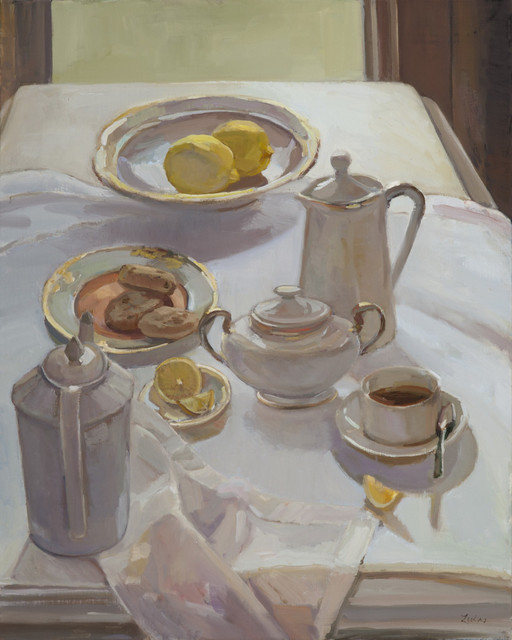 , 'Tea with Treats,' 2017, Grenning Gallery
