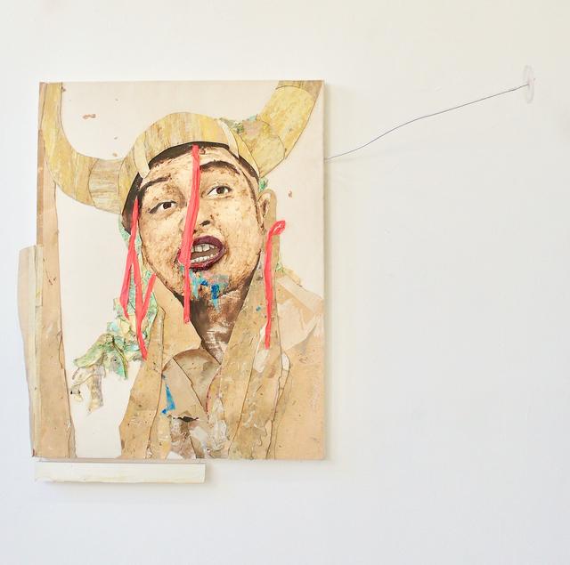 Maurice Thomassen, 'Peripheral Theatre : Star', 2011-2019, Mixed Media, Mixed media on canvas, NL=US Art