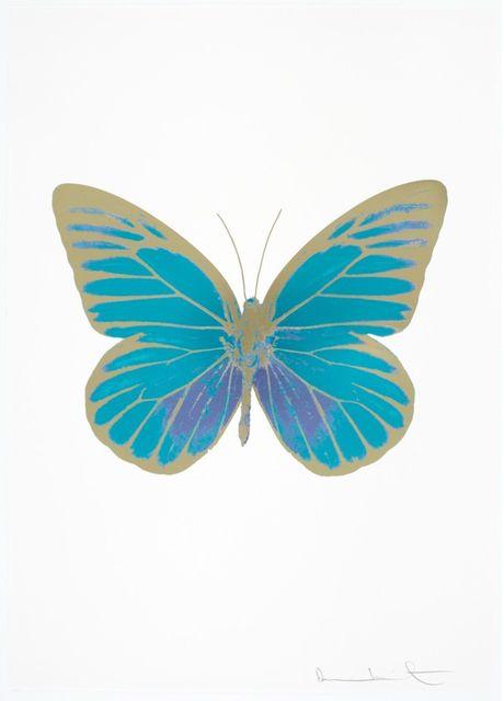 , 'The Souls I - Topaz - Cornflower Blue - Cool Gold,' 2010, Samuel Owen Gallery