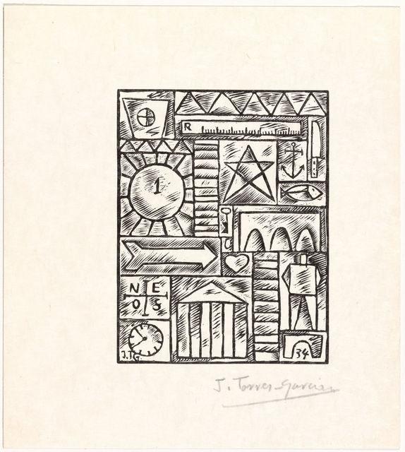 Joaquín Torres-García, 'Untitled, from 23 Gravures', 1934, Zeit Contemporary Art