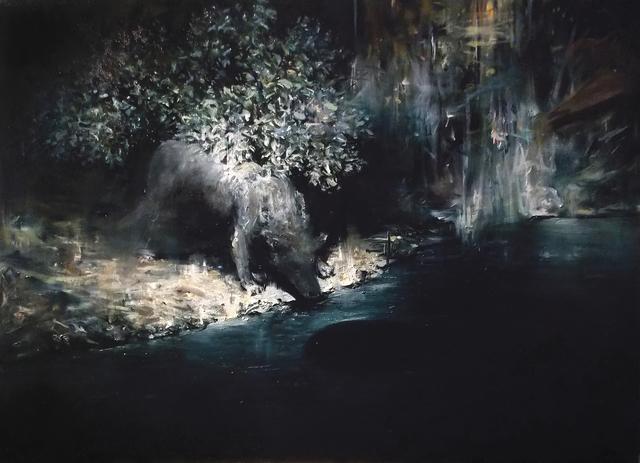 , 'Black Water,' 2016, Mobius Gallery