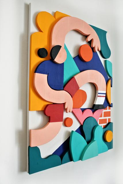 , 'Streetball,' 2018, Galerist