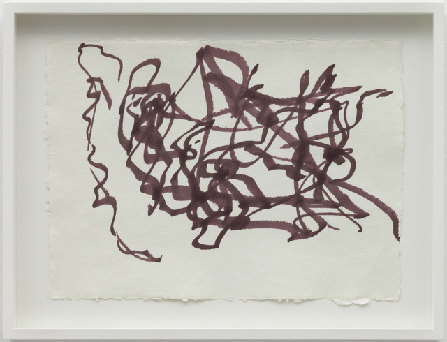 , 'Reading Dante IV, Performance Drawing,' 2008, Wilkinson