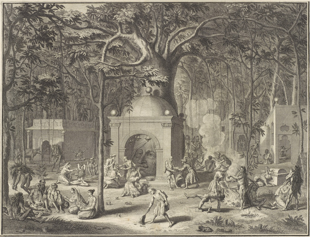 ", '""Diverses Pagodes et Penitences des Faquirs"" (""Various Temples and Penances of the Fa- kirs""), from Ceremonies et coutumes religieuses des Peuples ldolatres (Ceremonies and Religious Customs of the Idolatrous Peoples),' 1729, Asian Art Museum"