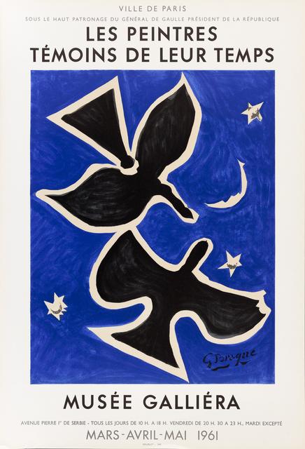 , 'Les Peintres Témoins de leur Temps,' 1961, Zuleika Gallery