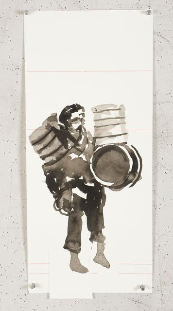 , 'Sketches for mosaics (#25),' 2010, Lia Rumma