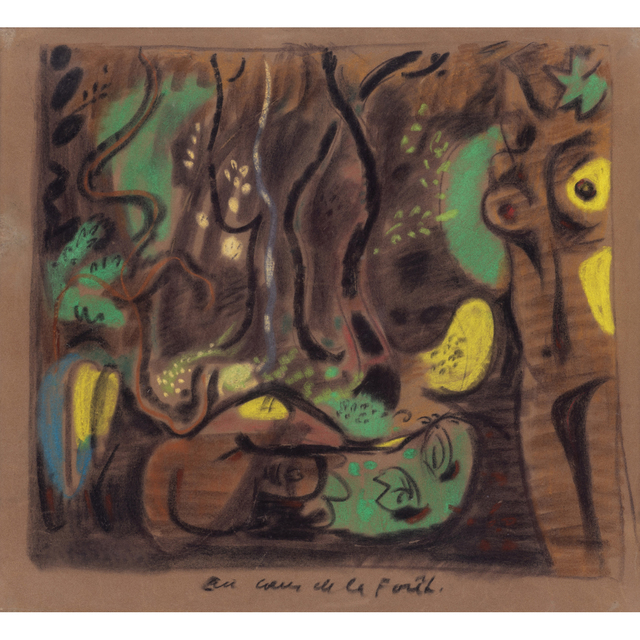André Masson, 'In the middle of the forest', circa 1931-1932, PIASA