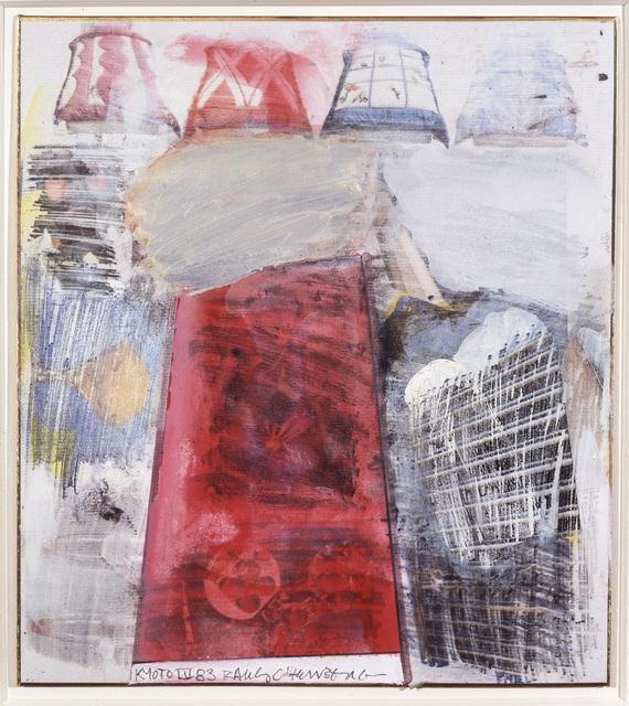 Robert Rauschenberg, 'Kyoto IV', 1983, Academy Art Museum