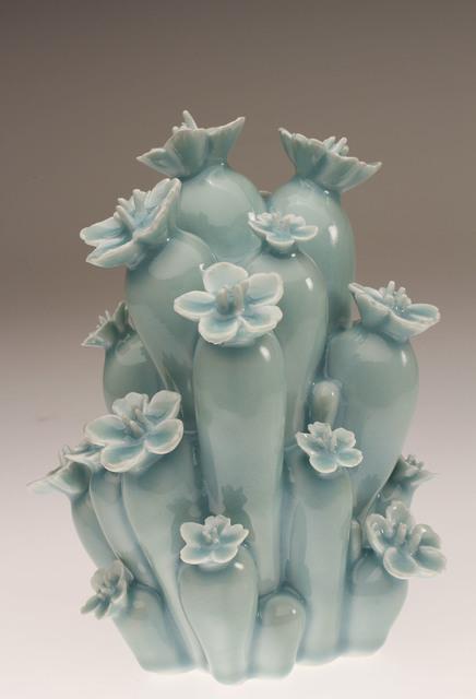 , 'Celedon Flower Bonsai,' 2016, Visions West Contemporary