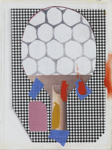 , 'Study for Ping Pong Paddle,' 2014, Marisa Newman Projects
