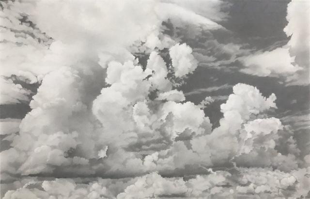 , 'Wolken XV, 22.10.2016 - 17:34 bis 25.11.2016 - 12:33 (2823 Minuten gezeichnete Zeit),' 2016, Galerie Commeter / Persiehl & Heine