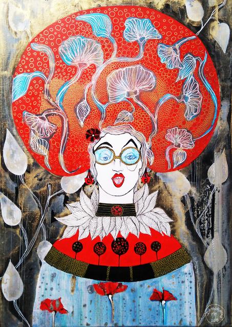 Demoiselle MM Mariane Mazel Aka, 'La lectrice', 2019, Galerie Libre Est L'Art