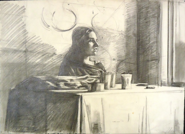 , 'Woman at a Table,' ca. 1975, Cerulean Arts