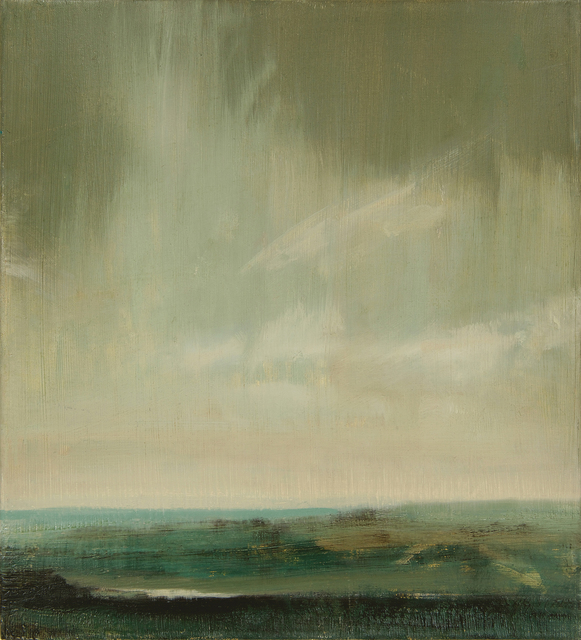 , 'Winter Sunset – Mill Hill,' 2016, Mall Galleries