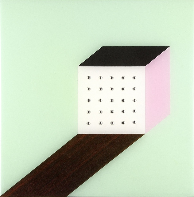 , 'Rosewood Shadow on Mint,' 2014, SLATE Fine Art Gallery