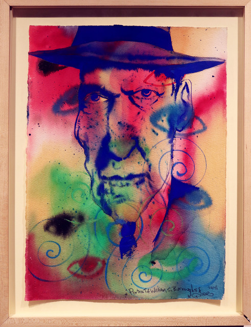 Chris DAZE Ellis, 'Portrait of William S. Burroughs', 1993, Drawing, Collage or other Work on Paper, Mixed media, Soho Contemporary Art