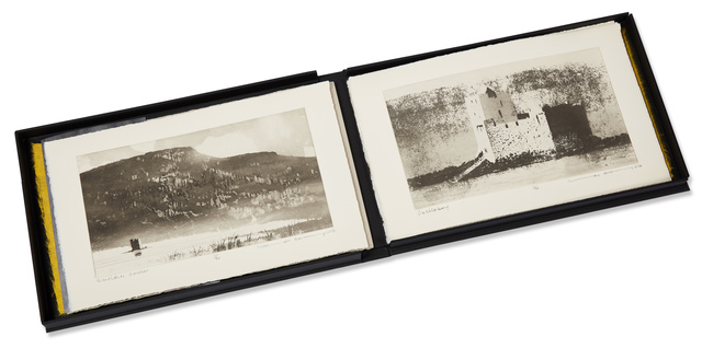 Norman Ackroyd, 'The Barra Isles', 2016, Books and Portfolios, Complete portfolio of ten etchings on 280gsm somerset rag, Roseberys