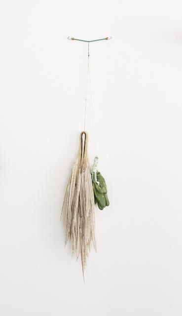 , 'STEEL, ZINC, POLYMER, RUBBER, COTTON(STRAP) to FEATHER...,' 2014, Galerie Greta Meert