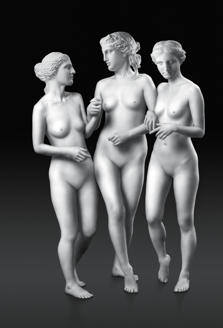 , 'Walking Three Graces,' 2007, Ricco/Maresca Gallery