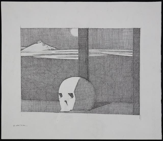 , 'Noche de luna en el Teide,' 1999, Fernández-Braso